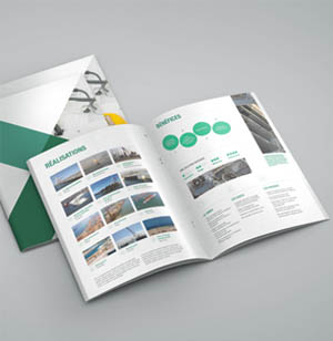 impression brochure commerciale
