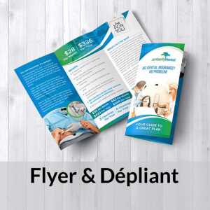 impression flyer & dépliant