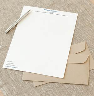 Papier en tête Casablanca